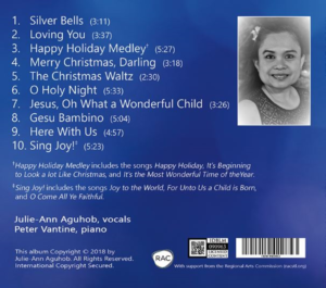 Silver Bells Song List